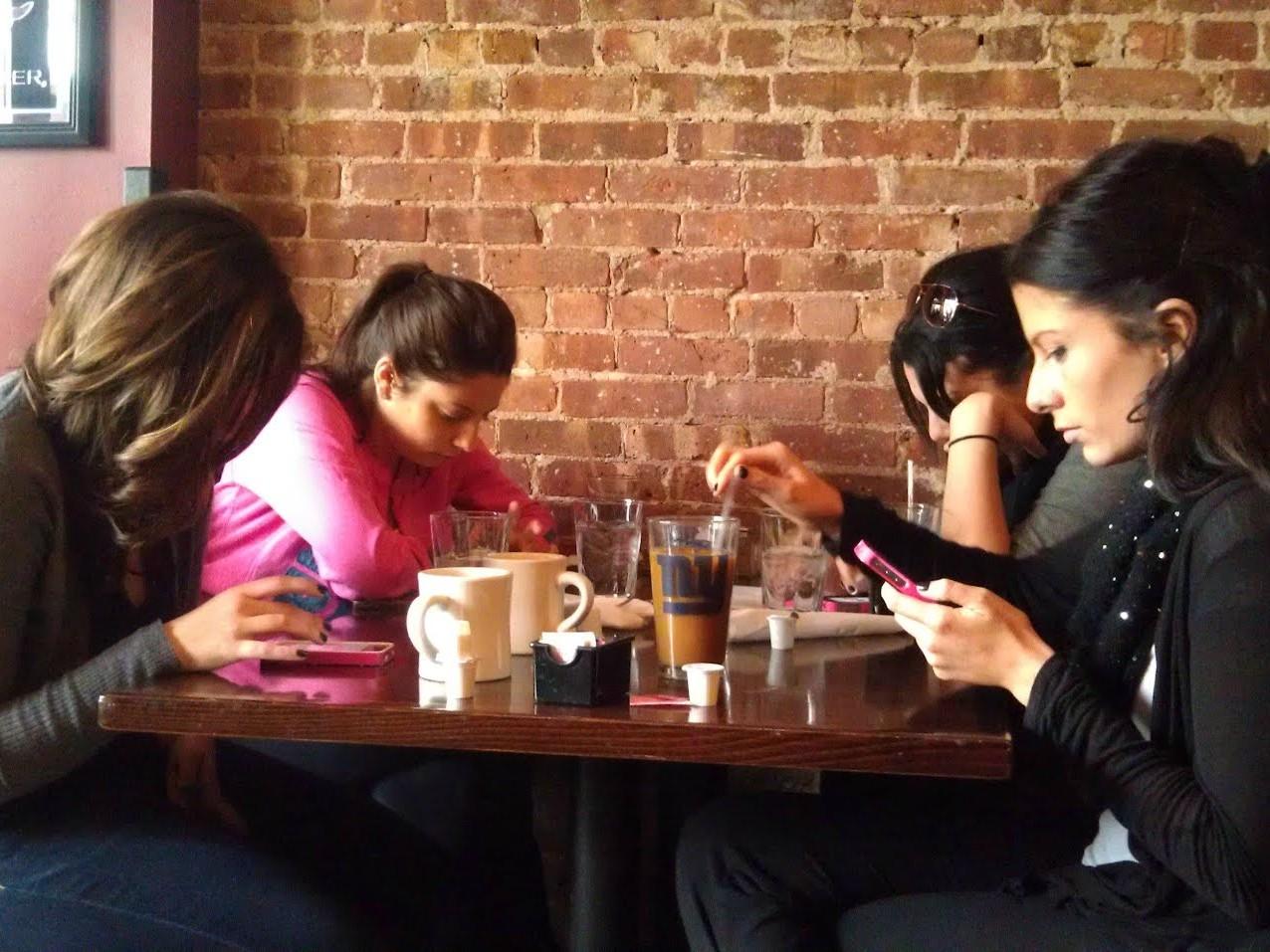 Business smartphone etiquette